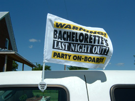 Bachelorette Flag picture